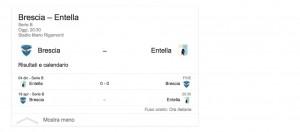 Brescia-Entella, streaming-diretta tv: dove vedere Serie B