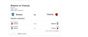 Brescia-Vicenza, streaming-diretta tv: dove vedere Serie B
