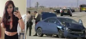 Guarda la versione ingrandita di Uccide 2 in un frontale in auto, si fa un selfie e scrive…