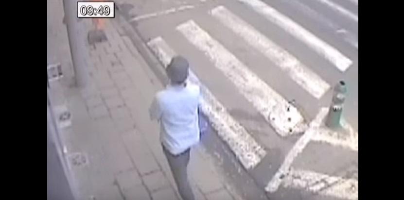 YOUTUBE Bruxelles, uomo col cappello scappa. Appello Polizia4