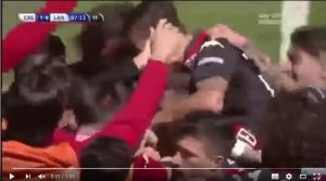 YouTube, Cagliari-Lanciano 1-1: highlights Serie B. Sau...