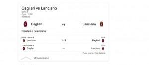 Cagliari-Lanciano, streaming-diretta tv: dove vedere Serie B