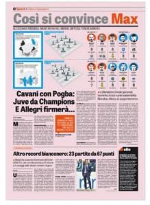 Calciomercato Juventus, Cavani con Pogba ed Allegri firmerà