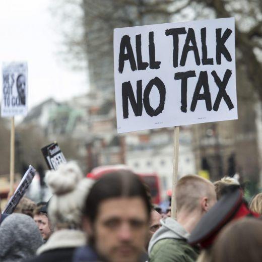 YOUTUBE Londra, proteste anti Cameron: migliaia per strada4