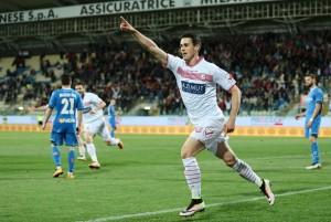 Carpi-Empoli 1-0: foto-pagelle-highlights, Lasagna gol_8