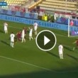 Carpi-Genoa 0-1, video gol: Pavoletti su assist di Dzemaili