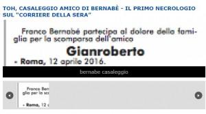 Gianroberto Casaleggio, primo necrologio è di Franco Bernabè