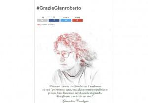 Beppe Grillo, post blog in onore di Gianroberto Casaleggio