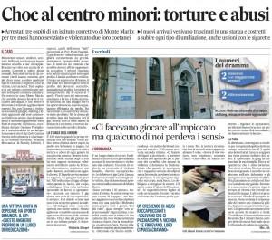 Centro minori Monte Mario: torture, sevizie, umiliazioni...