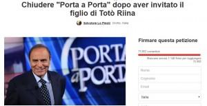 Change.org: petizione Chiudere Porta a Porta. Sarà data a...