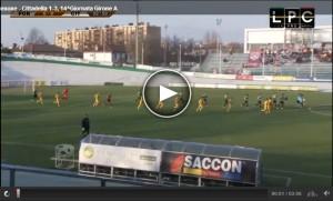 Guarda la versione ingrandita di Cittadella-Pordenone 3-1: veneti in B. Highlights Sportube