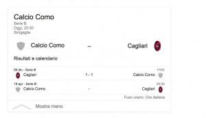 Como-Cagliari, streaming-diretta tv: dove vedere Serie B
