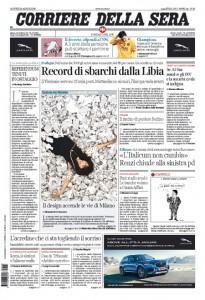 Guarda la versione ingrandita di Brennero, Libia, pensioni: le prime pagine dei giornali