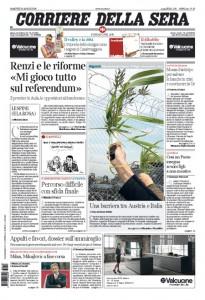 Guarda la versione ingrandita di Renzi, banche, Consulta: le prime pagine dei giornali