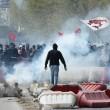 Napoli, corteo anti-Renzi contro polizia: sassi, lacrimogeni6