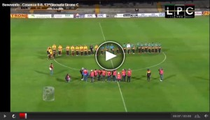 Cosenza-Benevento Sportube streaming RaiSport1 diretta tv
