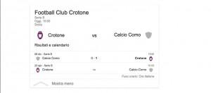 Crotone-Como, streaming-diretta tv: dove vedere Serie B