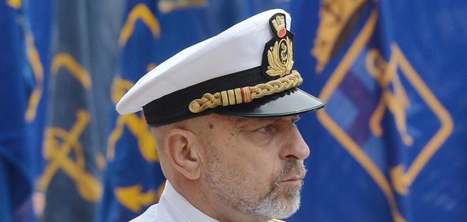 """Ammiraglio De Giorgi: """"Non mi dimetto per dei corvi""""Ammiraglio De Giorgi: """"Non mi dimetto per dei corvi"""""""