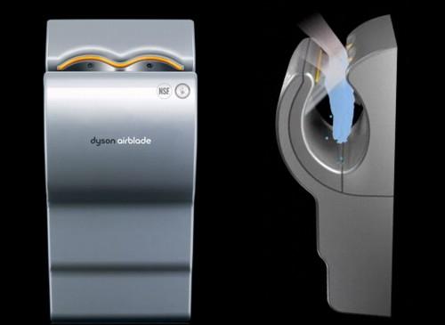 dyson airblade asciugamani sotto accusa bomba di batteri. Black Bedroom Furniture Sets. Home Design Ideas