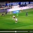 Atalanta-Roma, Dzeko video gol fallito a porta vuota
