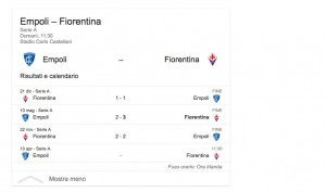 Empoli-Fiorentina, streaming-diretta tv: dove vedere Serie A
