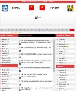 Guarda la versione ingrandita di Empoli-Verona: diretta live serie A su Blitz