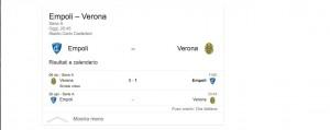 Empoli-Verona, streaming-diretta tv: dove vedere Serie A