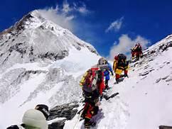 Scalatori dell' Everest