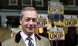 Il leader dell' Ukip Nigel Farage