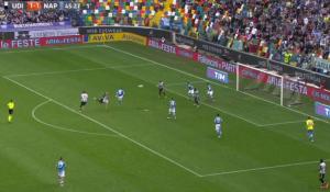 Bruno Fernandes video gol rovesciata Udinese-Napoli