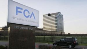Fiat Chrysler richiama un mln di auto per problemi al cambio