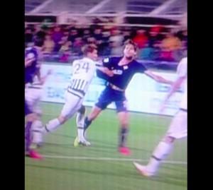 Fiorentina-Juventus, Marcos Alonso-Rugani: rigore negato