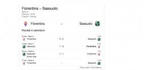 Fiorentina-Sassuolo streaming-diretta, dove vedere Serie A