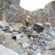 Colonnata: frana a cava marmo Carrara, un morto, un disperso2