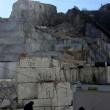 Colonnata: frana a cava marmo Carrara, operai intrappolati3