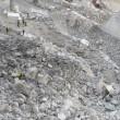 Colonnata: frana a cava marmo Carrara, un morto, un disperso5