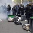 Francia: no riforma lavoro, scontri: auto lusso a fuoco11