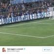 Gela contro Selvaggia Lucarelli, insulti su striscione 02