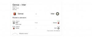 Genoa-Inter, streaming-diretta tv: dove vedere Serie A