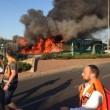 Gerusalemme, esplosione su un bus di linea: 20 feriti02