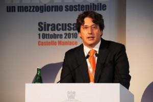Guarda la versione ingrandita di Gianluca Gemelli, compagno Guidi, lascia ruolo Confindustria