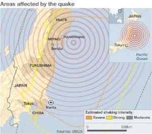 Terremoto Giappone: scossa magnitudo 6.4