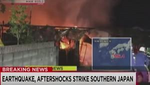 YOUTUBE Terremoto Giappone, 9 morti: il VIDEO della scossa