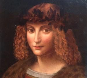 Guarda la versione ingrandita di Leonardo Da Vinci, sorriso Gioconda è del suo amante gay