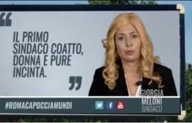 VIDEO Sabina Guzzanti: Giorgia Meloni, sindaco coatto…
