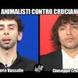 L'intervista doppia a Giuseppe Cruciani e all'animalista Valerio Vassallo