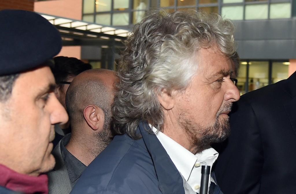 Gianroberto Casaleggio, Beppe Grillo a camera ardente