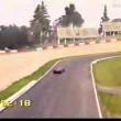 YOUTUBE Ferrari F1 vs Punto, Ferrari 575 su circuito Imola 03
