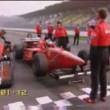 YOUTUBE Ferrari F1 vs Punto, Ferrari 575 su circuito Imola 01