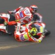YOUTUBE Iannone e Dovizioso incidente, suicidio Ducati7
